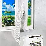 XtraCare Fensterabdichtung für Klimaanlage Mobile Klimageräte und Abluft-Wäschetrockner, Passend zu Allen Schlauchgrößen und Jedem Klimagerät (210 * 90cm)