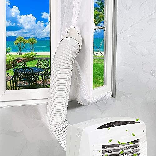 Xtracare Türabdichtung für Klimaanlage Mobile Klimageräte und Abluft-Wäschetrockner, Passend zu Allen Schlauchgrößen und Jedem Klimagerät (210 * 90cm)