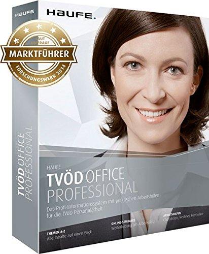 Haufe TVöD Office Professional für die Verwaltung: Die Komplett-Lösung inklusive 10 Online-Seminaren: Tarifrecht, Arbeitsrecht, SGB