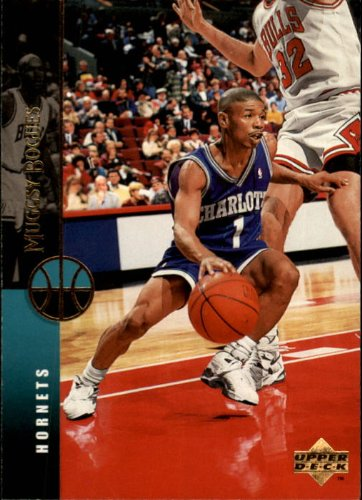 1994 Upper Deck Basketball Card (1994-95) #208 Muggsy Bogues