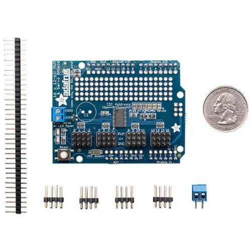 Adafruit 16-Channel 12-bit PWM/Servo Shield - I2C interface -