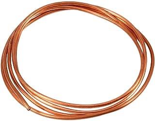 Tubo de Cobre, tubo de Cobre Suave de 2M para Tuberías de Refrigeración, OD 4 mm x ID 3 mm