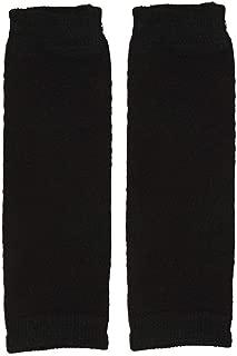 juDanzy Newborn Small Baby Leg Warmers (Newborn-15 Pounds) (Solid Black)