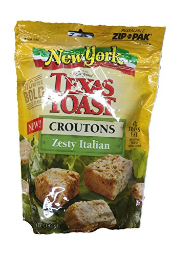 New York Brand Texas Toast Zesty Italian Croutons 5 oz
