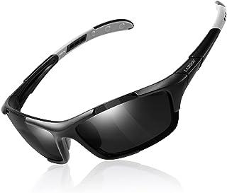 LASHION Polarized Sports Sunglasses for Men TR...