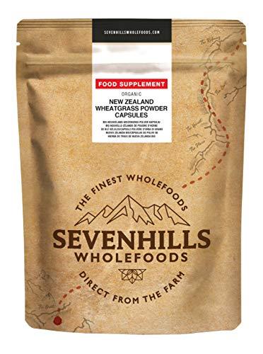 Sevenhills Wholefoods Bio Nieuw-Zeelandse Tarwegraspoeder Capsules 120 x 500mg