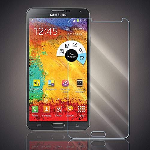 Panzerfolie für Samsung Galaxy Note 3 Neo Panzer Schutzglas Folie Premium Bildschirmschutzfolie [Screen Protector] 9H HD Glasfolie Hartglas Schutzfolie Displayschutz