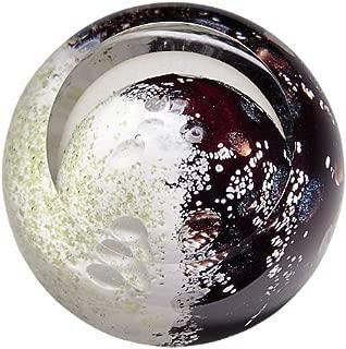 Glass Eye Studio Mercury Blown Glass Paperweight