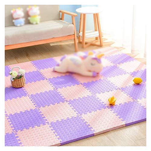 ALGWXQ Alfombra Puzzle Goma EVA Absorbente de Sonido A Prueba de Polvo Playmat Usado para Habitación, Oficina, Cuarto del Bebé, 1,2 Cm / 2,5 Cm de Grosor, 8 Especificaciones