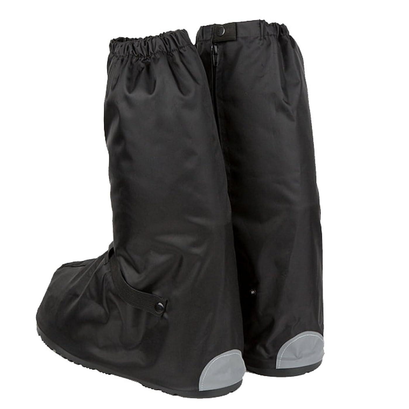 うそつき等価スクラップブックレッグカバー ゲイター 防水 通勤用靴 防水 防雪カバー 靴カバー フットカバー シューズカバー (S)