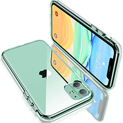 Humixx Shockproof Clear iPhone 11 Case [6 FT Military Grade Drop Protection] [11X Anti-Yellowing]...