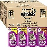 Whiskas Wet Food Pouches - 84x100g