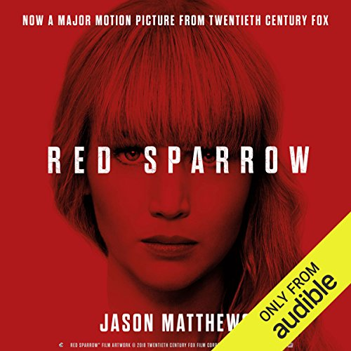 Red Sparrow                   By:                                                                                                                                 Jason Matthews                               Narrated by:                                                                                                                                 Jeremy Bobb                      Length: 17 hrs and 55 mins     1,255 ratings     Overall 4.4