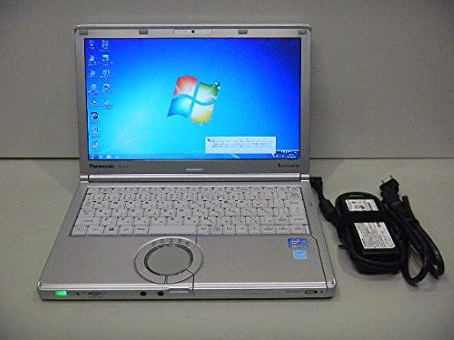 芸術セラフイタリアの【中古ノートパソコン】Panasonic Let's note CF-SX2 [CF-SX2ADHCS] -Windows7 Professional 32bit Core i5 2.7GHz 4GB 250GB DVDハイパーマルチ 12.1インチ(B1221N009)