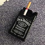 M·SY MSY2pcs/ Creative Personality Tobacco Cigarette Box Ashtray Design Fashion Bedroom Living Room Ash Tray Ceramic Ashtray Cigarette Ashtray,4