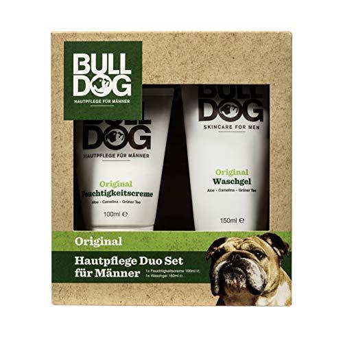 Bulldog Hautpflege Duo Set - Geschenkset für Männer, 298 g