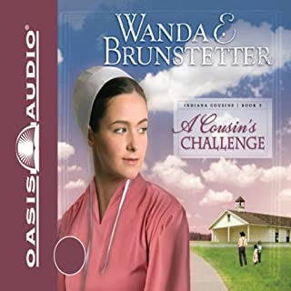A Cousin's Challenge audiobook cover art
