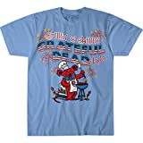 Liquid Blue unisex adult Grateful Dead Grillin N Chillin 4th of July Short Sleeve Tee T Shirt, Navy, X-Large US