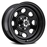 Vision 85 Soft 8 Black Wheel with Painted Finish (17x9'/6x135mm)