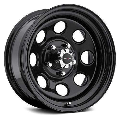 Vision 85 Soft 8 Black Wheel with Painted Finish (16x8'/8x165.1mm)