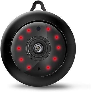 كاميرا تجسس خفية صغيرة لاسلكية واي فاي كاميرا اتش دي، داخلية للمنزل، اصغر جاسوس، كاميرا مربية كاميرات مراقبة الحركة / الرؤ...