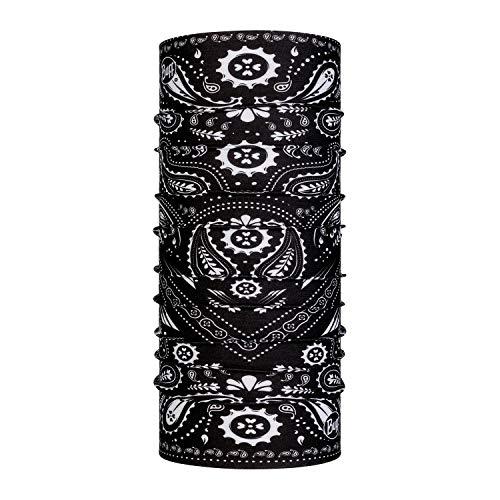 Buff New Cashmere Tour de Cou Original Mixte Adulte, Noir, FR Unique Fabricant : Taille One sizeque