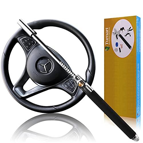 Turnart Steering Wheel Lock Universal Car Lock Anti-Theft Device...