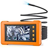 KZYEE KZ2000 Industrial Endoscope 1080P 4.3'' IPS Screen Inspection Borescope Camera for Pipe