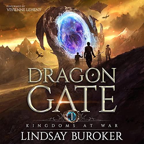 Kingdoms at War: An Epic Fantasy Adventure (Dragon Gate, Book 1)