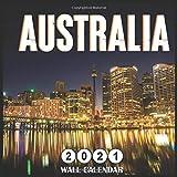 Australia 2021 Wall calendar: 18 Months Mini Wall Calendar 2021