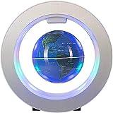 4 Pulgadas Globo Levitacion con Luces Color LED,Azul Globo Terraqueo...