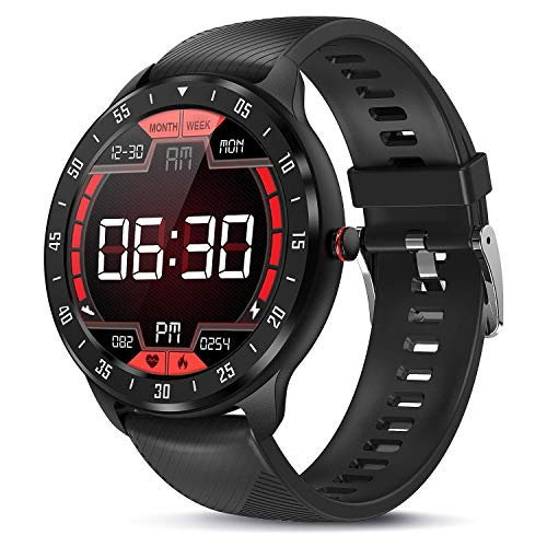 TagoBee Smartwatch Fitness Tracker, Voll Touchscreen Fitness Armband IP67 Wasserdicht Smart Watch mit Stoppuhr Schlafmonitor Pulsuhren Schrittzähler Armbanduhr Herren Damen Sportuhr für iOS Android