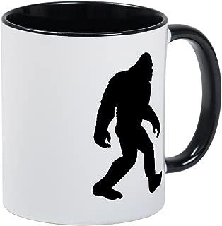 CafePress Bigfoot Silhouette Mugs Unique Coffee Mug, Coffee Cup