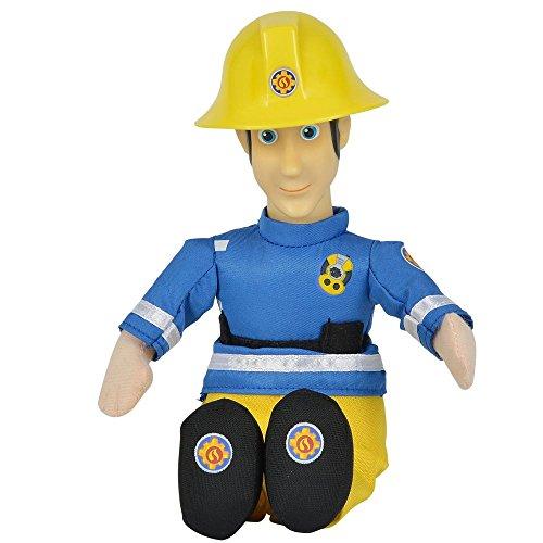 Simba Auswahl Beanie Puppe | Plüsch Figur | 25 cm | Feuerwehrmann Sam, Typ:Elvis