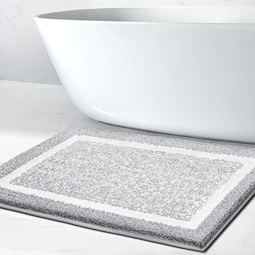 Bathroom Rug Mat, Ultra Soft and Water Absorbent Bath Rug, Bath Carpet, Machine Wash/Dry, for Tub,...