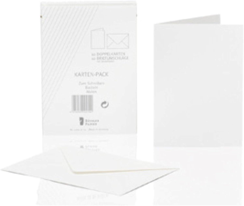 Rössler Papier - - Kartenpack 10 10, DIN A6 hd, Weiß - Liefermenge  10 Stück B07CX7GWP8  | Authentisch