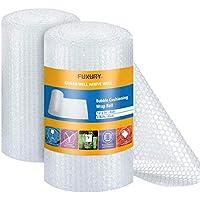 Fuxury 12 Inch X 72 Feet Bubble Wrap Roll