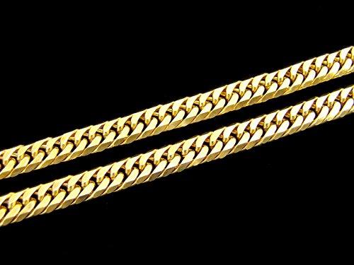 K18YG 喜平 6面 Wカット ネックレス 20g 40cm 18金 イエローゴールド
