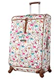 Lily Bloom Luggage Large Expandable Design...