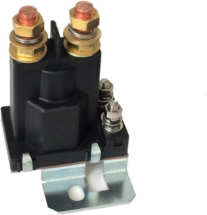 BXU-BG Automotive Relay DC batería doble aislador 12V-24V 500A de alta corriente Carretilla elevadora contactor del motor (Size : 24V)