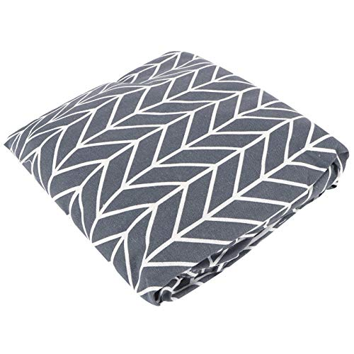RBSD Sofa Slipcover, DIY Sofa Cover Childrens Toy Storage Bag Childrens Toy Organizer Bean Bag Cover, Blankets for Stuffing Toys(Gray wheat ears)