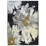 WEBTAPPETI.IT Alfombra floral para salón Portofino ocre 160 x 225 cm