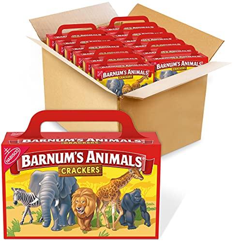 Barnum s Original Animal Crackers, 12 - 2.13 oz Boxes