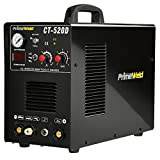 PrimeWeld 3-in-1 50 Amp Plasma Cutter, 200 Amp TIG Welder and 200 Amp Stick Welder - Welding and Cutting Combo, Mobile Welding Machine, Portable Plasma Cutter, Multipurpose Welder and Cutter, CT-520D
