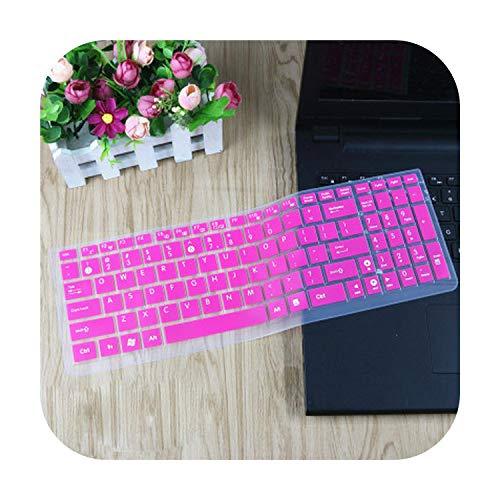 15 6 Housse de protection clavier pour ordinateur portable Asus Vivobook X540 X540L X540LJ X540CA X540SA X540LA X540SC X550JD X550JF X550LA-Rose