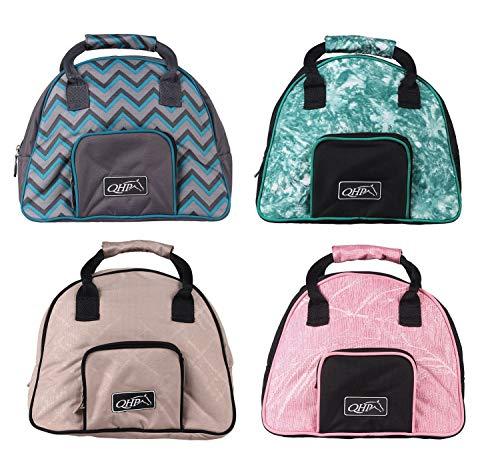 netproshop Modische Reithelmtasche, Helmtasche in verschiedenen Designs, Farbe:Blossom
