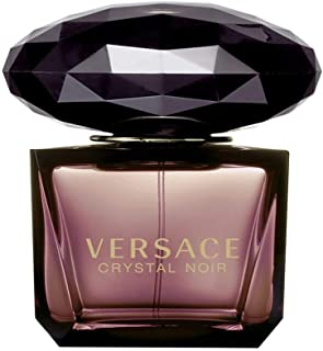 VERSACE Crystal Noir Eau De Parfum Spray for Women, 3 Ounce