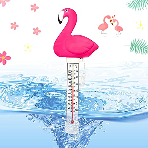 Shengruili Schwimmende Pool Thermometer,Teich Wasserthermometer,Floating Poolthermometer,Schwimmbadthermometer,Schwimmende Wasserthermometer,Schwimmende Pool Thermometer,Wasser Temperatur Thermometer