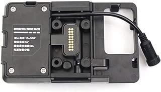 Entweg Accesorios de Soporte de navegación para teléfono móvil con Cargador USB para BMW R1200GS LC y Adventure S1000XR R1200RS