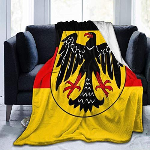 July Flag Eagle Germany fleecedeken superzacht flanel schietdeken flanel fluweel